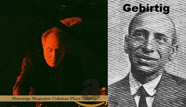 Anthony Coleman toca a Gebirtig