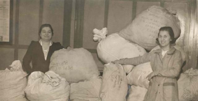 La filántropa Dorothy Dworkin