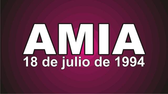 27 aniversario del atentado a la AMIA