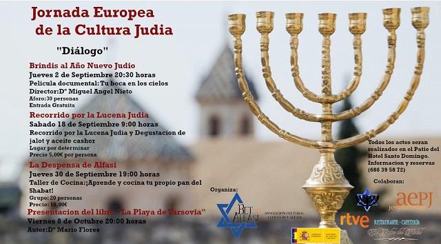 La Jornada Europea de la Cultura Judía en Lucena, con Francisco Carrasco