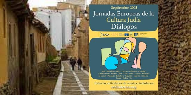 León, presidencia de la Red y XXII Jornadas Europeas de la Cultura Judía, con Evelia Fernández
