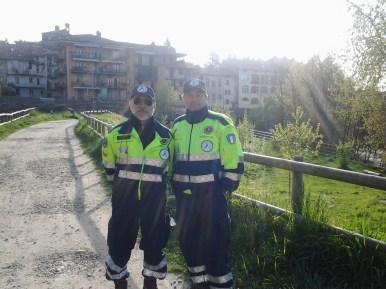 I nostri volontari Gilfredo Cavagnolo e Francesco Piccione