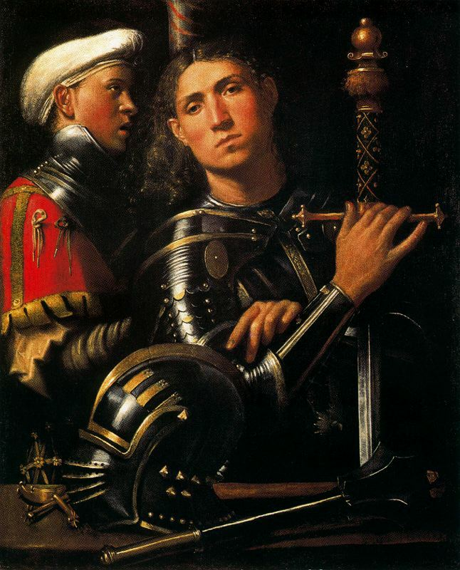 Portrait-of-Warrior-with-His-Equerry