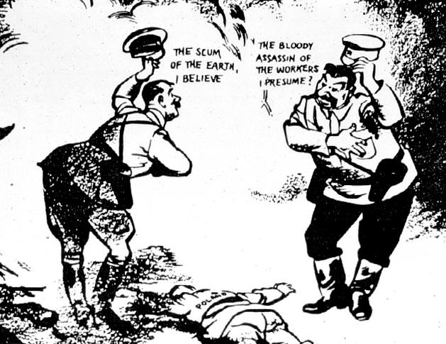 La falsa contrapposizione tra totalitarismi