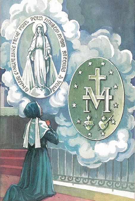 27 novembre: Festa della Medaglia Miracolosa (sapete cos'è?). Alle 17 va recitata la supplica
