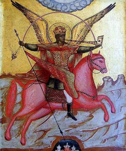 San Michele Arcangelo nella lotta contro il demonio