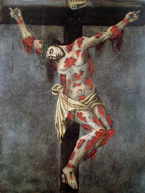 La Via Regale, stazione XII: Gesú muore sulla Croce