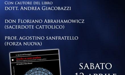Don Floriano Abrahamowicz, Agostino Sanfratello e Andrea Giacobazzi a Verona il 12 aprile
