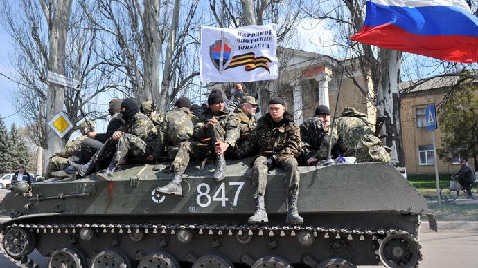 Slavyansk, le truppe solidarizzano coi ribelli filorussi