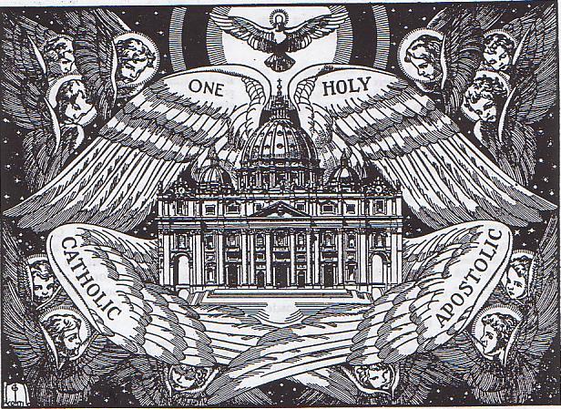 [IMMAGINE STUPENDA (14)] La Chiesa una, santa, cattolica e apostolica