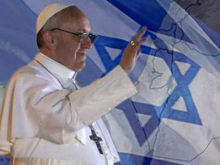 """Bergoglio: """"Pace e prosperità in abbondanza su Israele. Dio vi benedica con pace. Shalom!"""""""