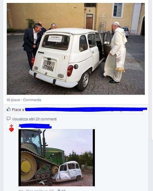 Bergoglio defeziona anche la processione del Corpus Domini