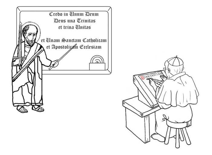 Il ritorno di san Pietro (seconda parte: il primo comandamento)