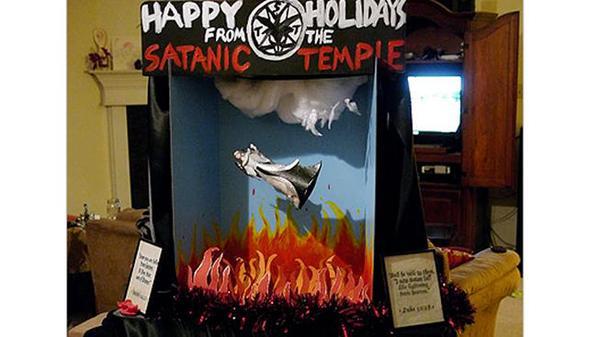 E il Satanic Temple augura buon Natale. Con Lucifero.