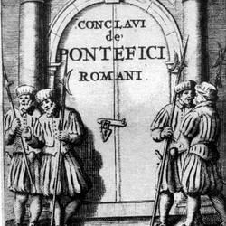 Nullità dell'elezione pontificia per accordo previo?