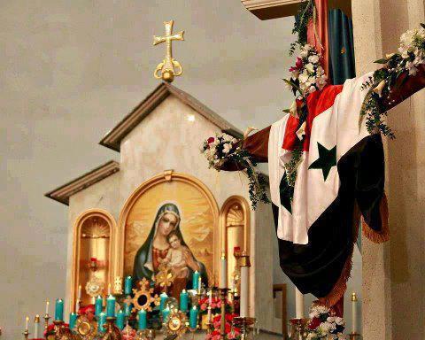 Immacolata. Quattro immagini da vedere sulla Vergine nella Siria assediata