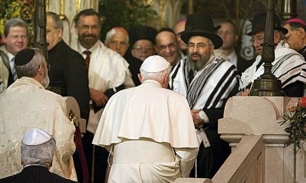 J. Ratzinger: giudei 'predica vivente', 'padri nella fede', non è necessario convertirli