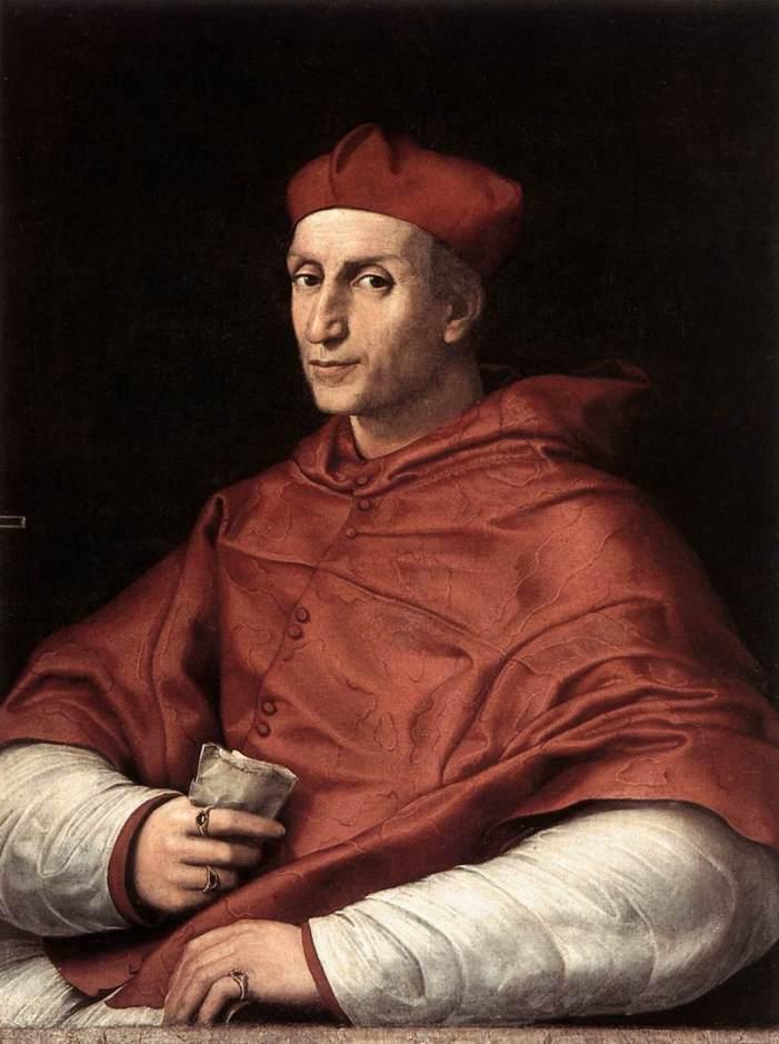 [GLORIE DEL CARDINALATO] il Cardinal Bernardo Dovizi detto 'il Bibbiena'