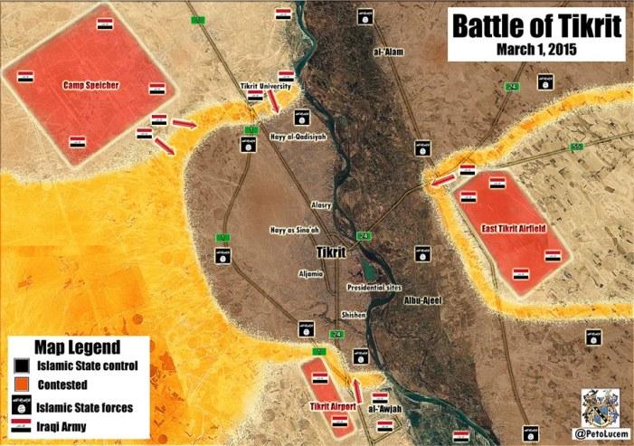 Le truppe irachene lanciano l'assalto per liberare Tikrit dall'ISIS. E l'Europa?