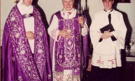 CONFERMA. Priore Monastero – Santa Cruz: Mons. Williamson consacra domani