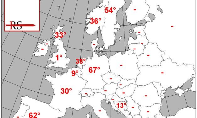 [DA VEDERE] Una mappa della 'colonizzazione' islamica nel continente europeo