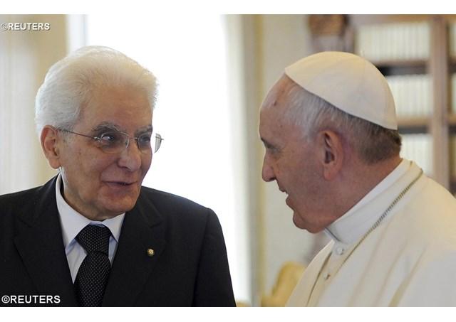 Mattarella e Marino fanno gli auguri alla Massoneria per il XX Settembre