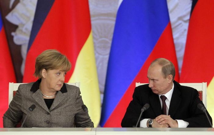 Merkel girevole: in Siria, Putin è utile
