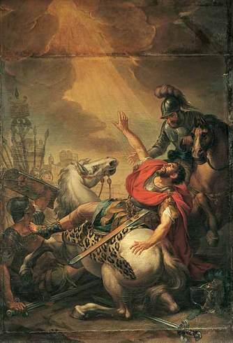 Antonio Bresciani dipinge il quadro raffigurante la Conversione di San Paolo, ora conservato nella cappella di San Paolo della Cattedrale di Parma.
