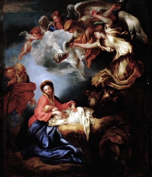 Oggi è nato il nostro Salvatore, rallegriamoci. Rendiamo il giusto culto al vero Dio e fuggiamo ogni empietà