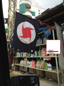 Foto scattata dall'autore, non lontano dal confine siro-libanese, nel 2012.