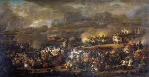 Vladimir Ivanovich Moshkov (1792—1839): La Battaglia di Lipsia.