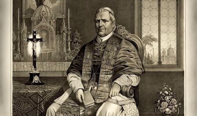 Il guanto di sfida del Beato Pio IX