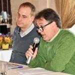 con Domenico Savino per la prima conferenza del pomeriggio