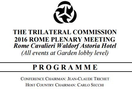 Ecco il programma della Trilaterale a Roma