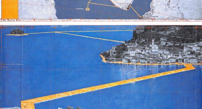 Con 'Christo' non si cammina sulle acque. Installazioni lacustri e amenità affini.