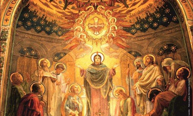 Per la grazia noi riceviamo i sette doni dello Spirito Santo i quali portano con le otto beatitudini di Cristo ed i frutti dello Spirito Santo