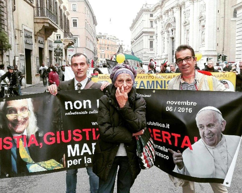 la triade capitolina: Pannella, Bonino, Bergoglio. Amen