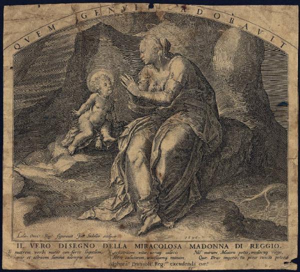 Il vero disegno della miracolosa Madonna di Reggio.
