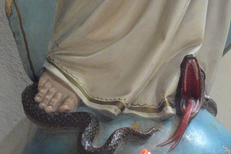 serpente chiesa