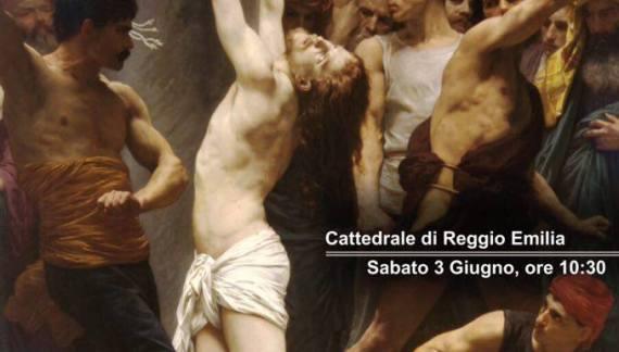 Processione di riparazione per il gay pride 'simbolico' di Reggio Emilia, 3 giugno 2017