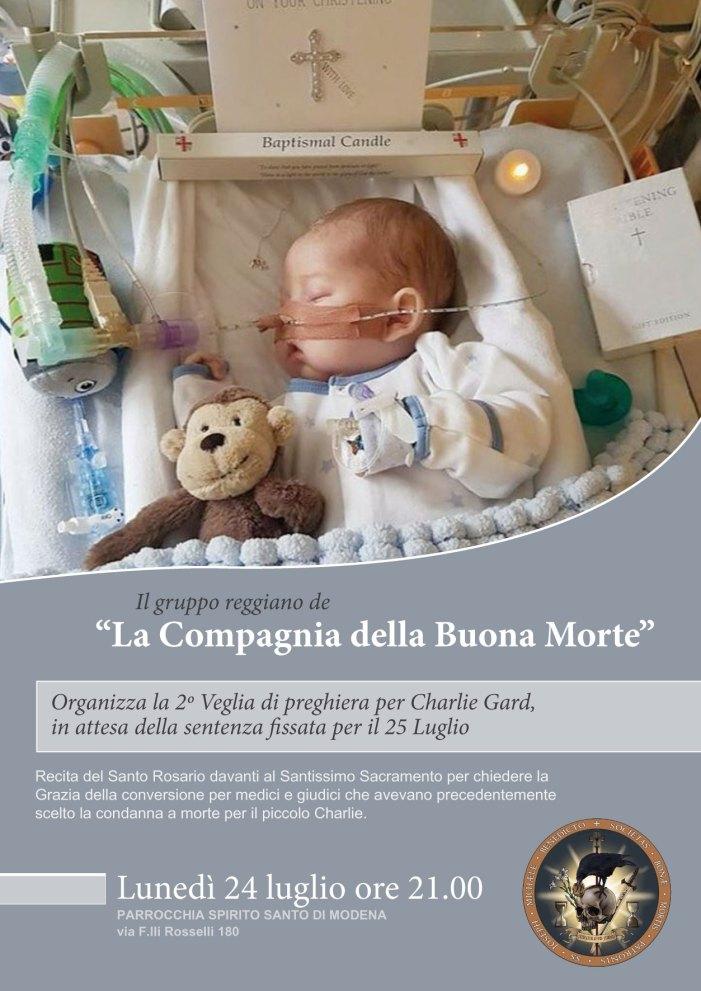 Preghiera e speranza per Charlie Gard