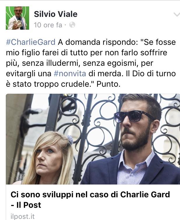 [CHARLIE] Silvio Viale: alcuni aggiornamenti