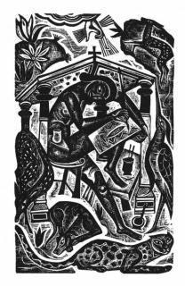 "David Jones, ""The Artist"" (1927)"