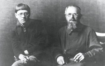 David Jones con Eric Gill (1926)