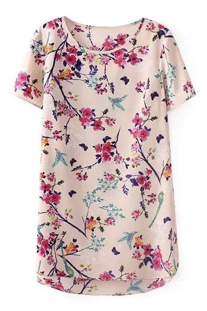 Per esempio con una blusa lunga e dritta.