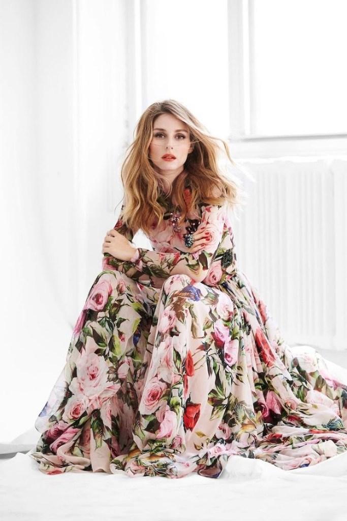 Sì, questa è Olivia Palermo e l'abito è D&G: mi piace vincere facile :)