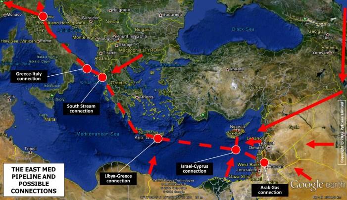 Nel 2025 il gasdotto Israele-Cipro-Grecia-Italia