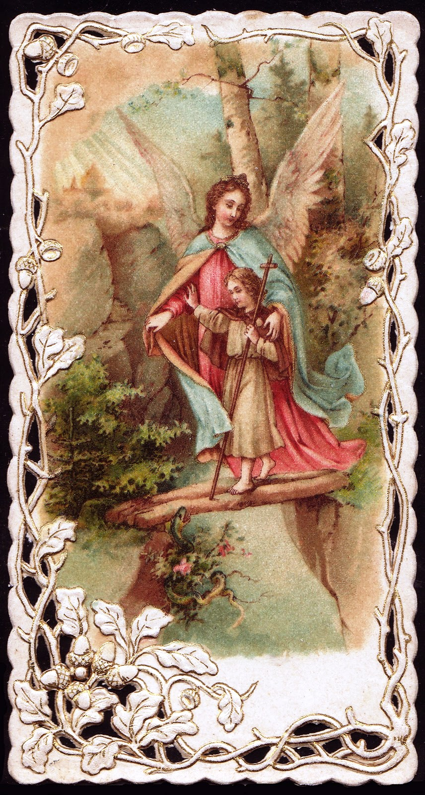 guardian angels - gift from Linda