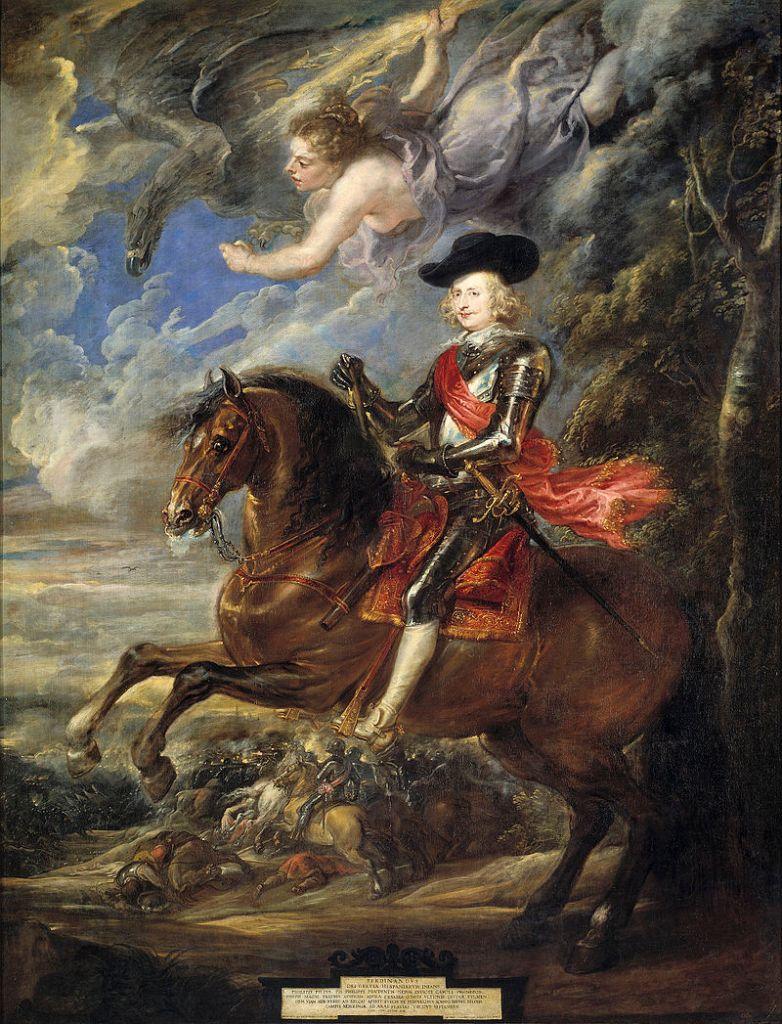 Pieter Paul Rubens, El cardenal-infante Fernando de Austria, en la batalla de Nördlingen, 1634-35, Museo Nacional del Prado (Madrid, España)