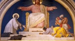 Auguri a Gesù per l'anno nuovo